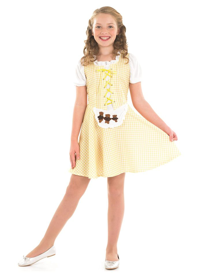 Goldilocks Girl Childrens Dress Up Costume By Fun Shack Princess Whatshername Costumes Fancy
