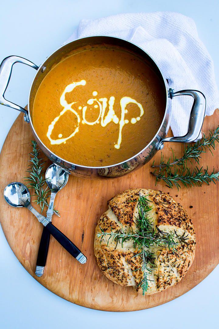 20 Minute Thai Sweet Potato Soup