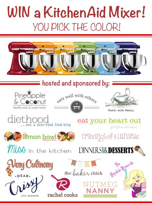 KitchenAid Professional Stand Mixer Giveaway   Very Culinary (ends 1/11/2014)