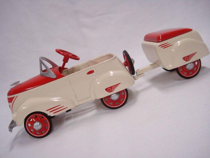 Ed 1940 Custom Roadster w Trailer Kiddie Pedal Car Don Palmiter Hallmark | eBay