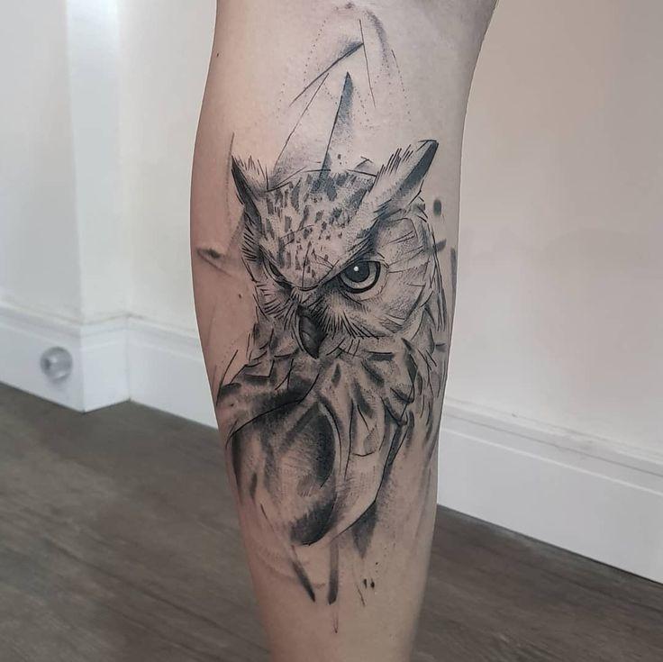 Mais de 100 mulheres na tatuagem para conhecer! - Blog Tattoo2me | Tatuagem coruja, Tatuagem, Tatuagem de coruja
