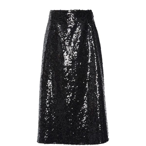 Christopher Kane Sequin Midi A Line Skirt ($3,250) ❤ liked on Polyvore featuring skirts, mid calf length skirts, sequin midi skirt, a line midi skirt, midi skirts and christopher kane skirt