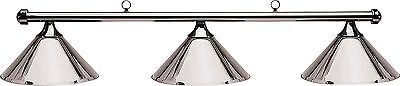 Table Lights and Lamps 75189: Hj Scott Gunmetal Bar/Gunmetal Metal Shade Billiard Pool Table Light -> BUY IT NOW ONLY: $159.99 on eBay!