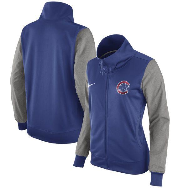 Chicago Cubs Nike Women's Full-Zip Jacket - Royal - $74.99