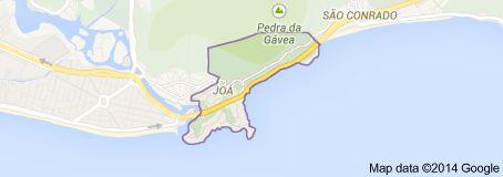 Bairro Joá - E um bairro nobre de classe alta da Zona oeste da cidade do Rio de Janeiro. E tambem e o menor bairro da area administrativa da Grande Barra da Tijuca, e o segundo bairro com  a menor  populacao da cidade, atras apenas do Grumari. - Rio de Janeiro  - Pesquisa Google