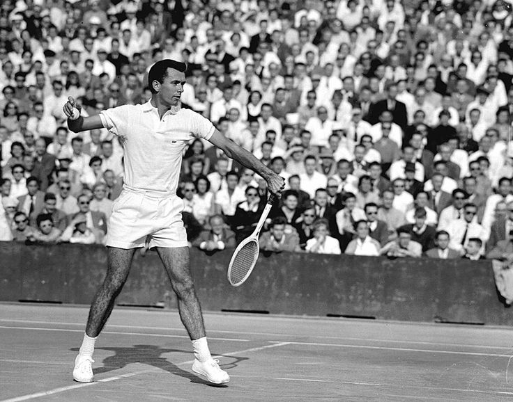 Rose had a Hall of Fame career in the 1950s and later coached Billie Jean King and Margaret Smith Court.