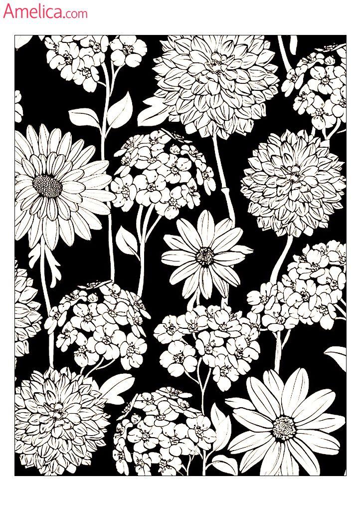 Арт - терапия раскраски взрослым скачать бесплатно, картинки антистресс для раскрашивания распечатать: цветы, узоры, люди, абстракция