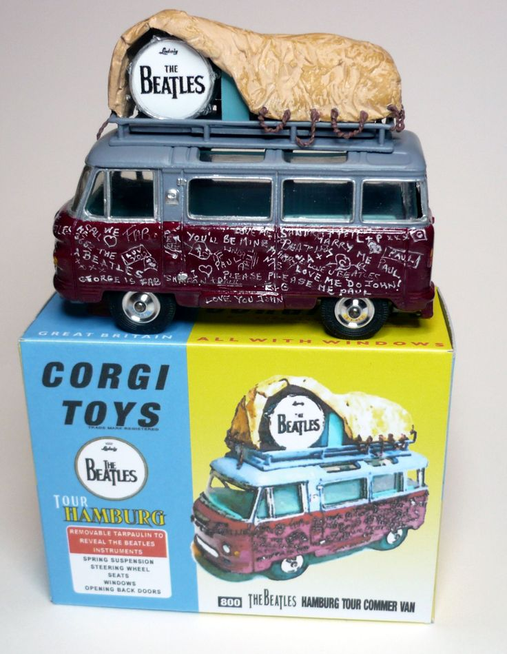 Corgi Code 3 -Early Beatles Tour Van.
