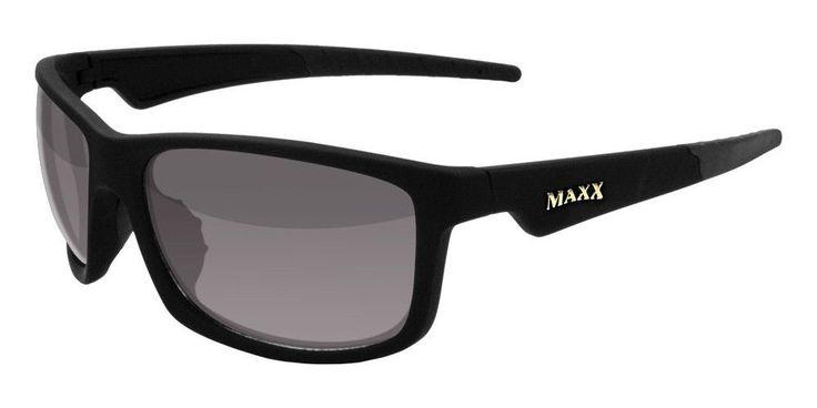 Maxx Sunglasses Retro 2.0 Black Frame Polarized Smoke Lenses