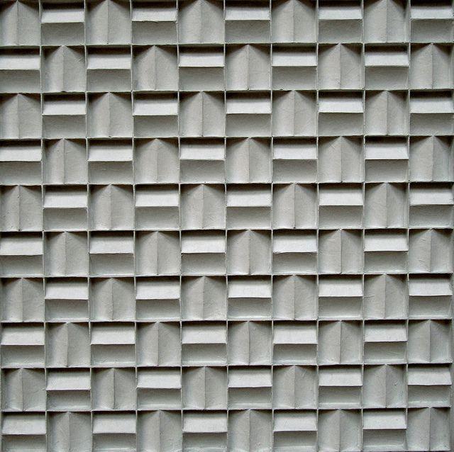 Jan Schoonhoven: Metrical quadrate relief, 1968