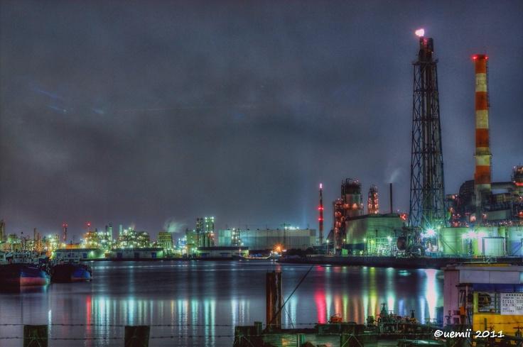 Keihin industrial area. 京浜工業地帯  #HDR #hdrphotography #hdrtonemapping #photomatix #topazadjust