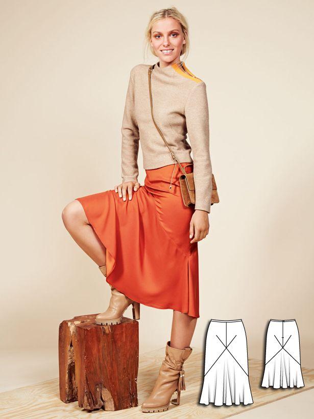 色と質感がステキ!素敵な40代の着こなし術♡台形スカートの秋冬 ファッションのコーデ術参考まとめです♪