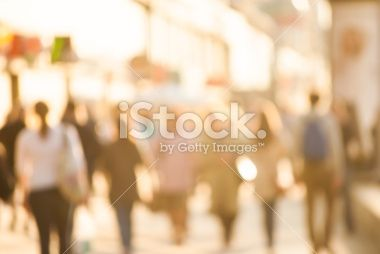 City commuters. Royalty Free Stock Photo