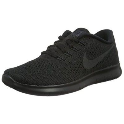 Women's Nike Free RN Running Shoes (all Black) (8, Black)