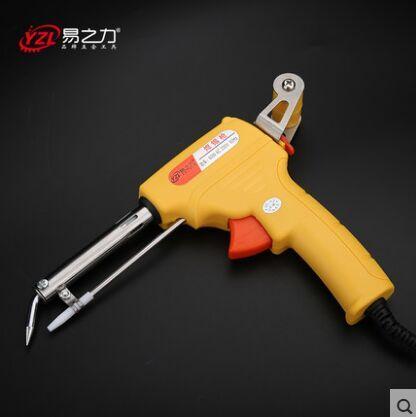 $8.91 (Buy here: https://alitems.com/g/1e8d114494ebda23ff8b16525dc3e8/?i=5&ulp=https%3A%2F%2Fwww.aliexpress.com%2Fitem%2FManual-Tin-Soldering-Iron-Electric-Welding-Gun-tin-solder-tool-60W%2F32725026710.html ) Manual Tin Soldering Iron Electric Welding Gun tin solder tool 60W  for just $8.91