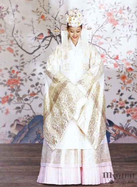 Hanbok, korean traditional clothes / My wedding / 모델 이현이 시집가는 날 / 진주상단