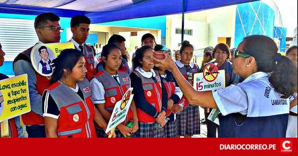 #Dengue: Incentivan participación escolar en la identificación de criaderos de zancudos - Diario Correo: Diario Correo Dengue: Incentivan…