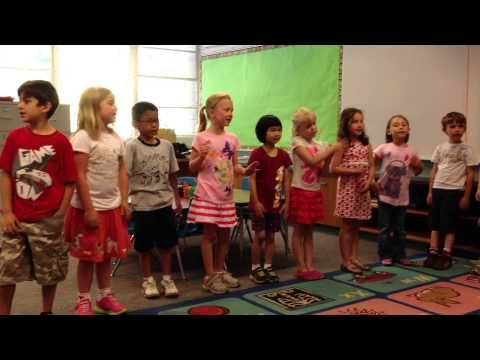Ava's Kindergarten Graduation...ABC Goodbye Song - YouTube