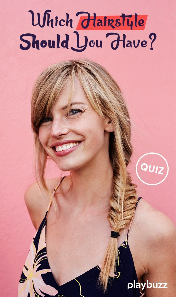 Fabulous Which Hairstyle Should You Have Hair Quiz Beauty Quiz Haircut Natural Hairstyles Runnerswayorg