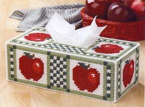 Plastic Canvas Bear Free Patterens | Apple Delight Tissue Cover Pattern Plastic Canvas Pattern | eBay