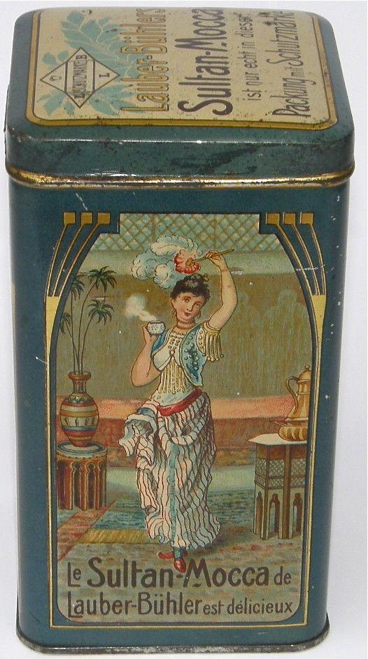 Vintage Dutch coffee tin