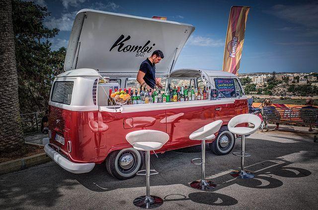 "VW Bulli as ""Kombi Bar"" by bt0070, via Flickr"