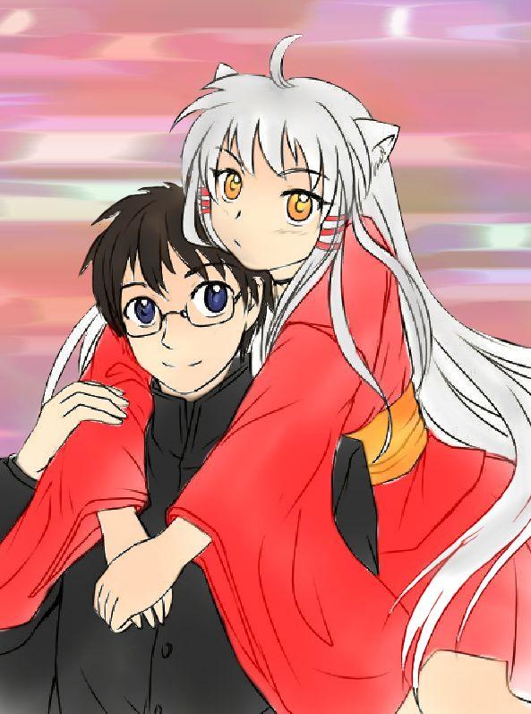 Inuyasha And Kagome Sesshomaru Cosplay