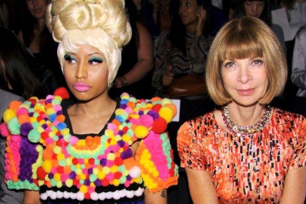 Nicki & Anna.: Happen Stylelifeandotherth, Fashion Weeks, Daily Fashion, Nicki Minaj, Anna Wintour, Anna Aint, Carolina Herrera, Girls Fashion, Favorite People