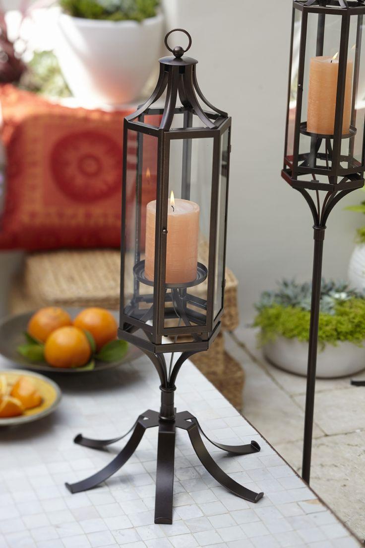 Gorgeous lantern stands - PartyLite's Marrakech range