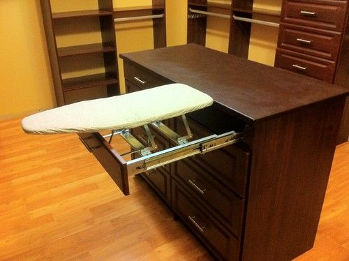 Pull out Ironing Board - Storage & Closets Photos Master Bedroom Closets Design, Pictures, Remodel, Decor and Ideas - page 11
