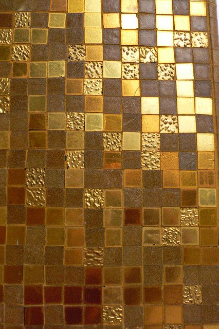 Mixed Metals in the Tiles would work well...