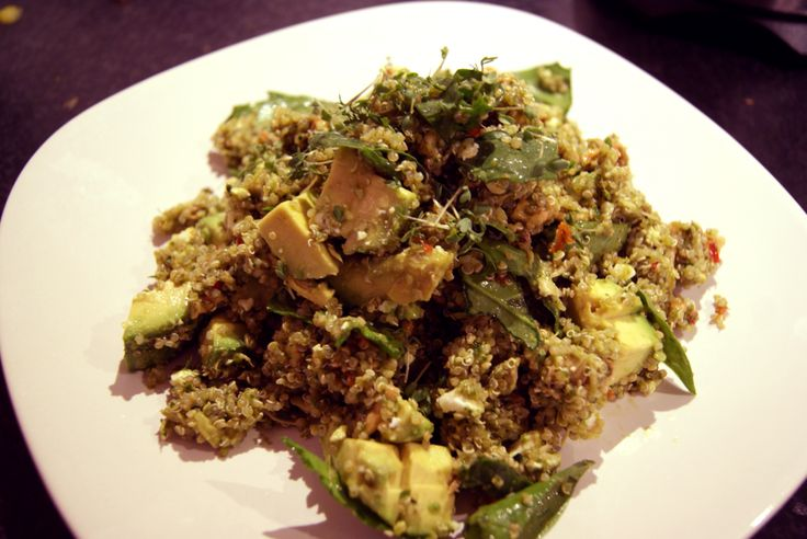 groene quinoa salade recept