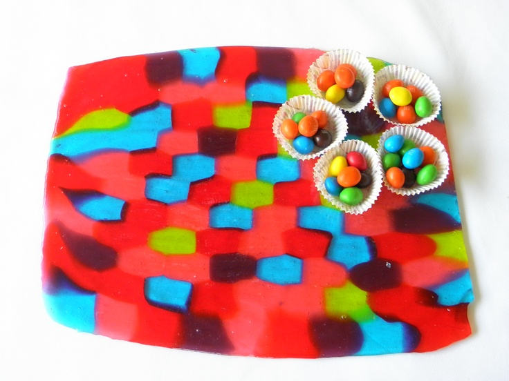 During the holiday season of 2012, I noticed that the trays made of melted peppermint candies were quite popular. I thought these were a clever idea but limited to the season. So, I came up with the Jolly Rancher Candy tray which can be used year round. In addition, my tray is featured on ABC's The Chew web site and was aired on the show on 3/16/13.