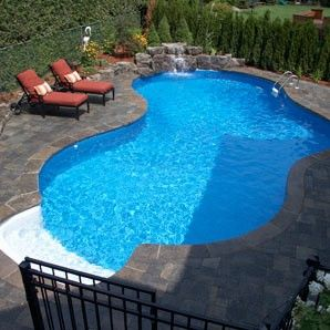 18x34 Lagoon - Pioneer Family Pools After living with one all last year.....I want a pool!