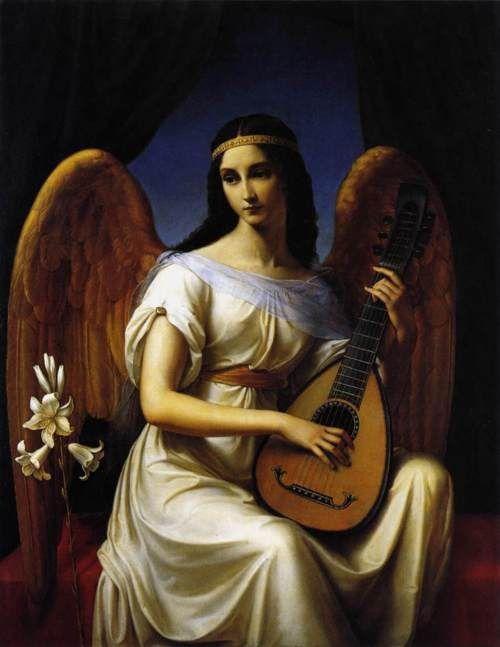 Beautiful angel, 1828