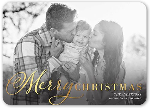 Brilliantly Merry 5x7 Greeting Card | Christmas Cards