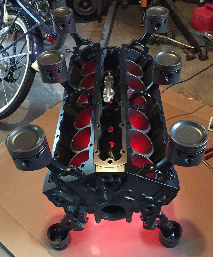Jaguar V12 Engine Block Table Www.Badassblox.Com - must be a 12 cylinder engine