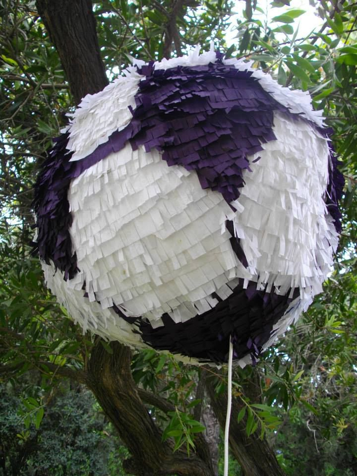 Football- Hand Made. Piñata