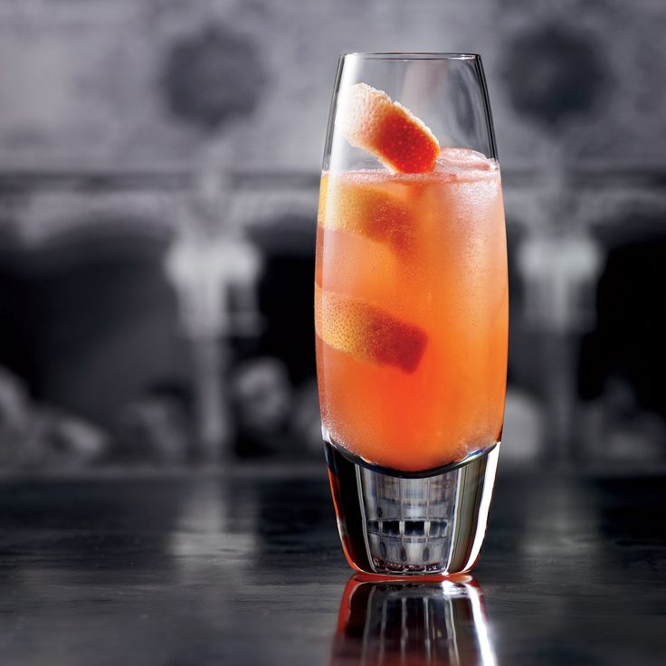 This Paloma cocktail riff includes Campari and Italian orange soda in addition to the usual tequila and grapefruit.
