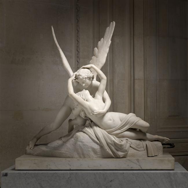 Psyché ranimée par le baiser de l'Amour Canova Antonio RMN-Grand Palais (musée du Louvre) / René-Gabriel Ojéda