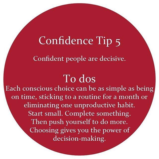#HumanDoingCC #confidence #confidant #decision #decisive #choice #routine…