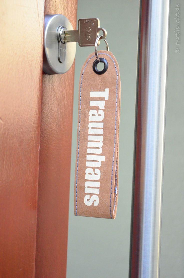 Schlüsselanhänger aus SnapPap