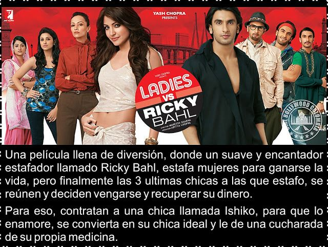 Cine Bollywood Colombia: Ladies vs Ricky Bahl
