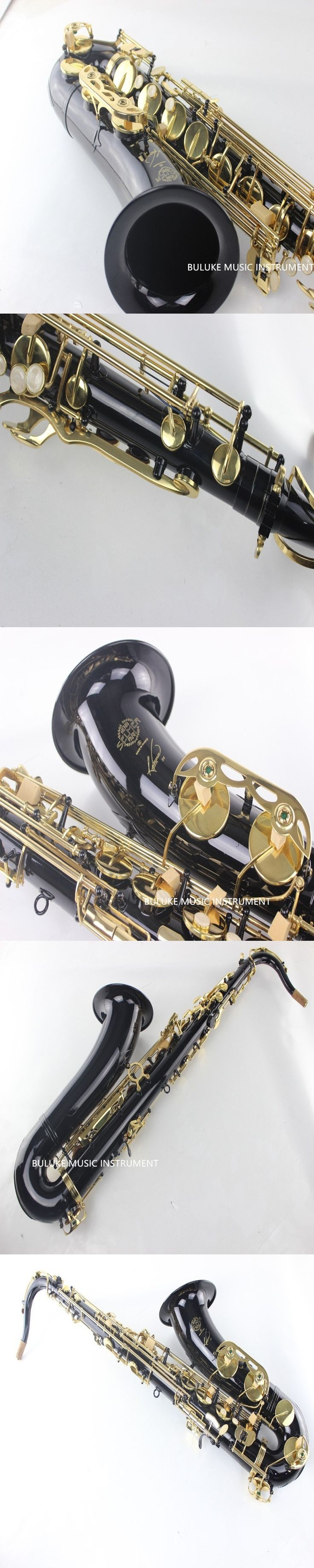 Selmer Tenor Saxophone R54 Sax Bb Falling B Black Nickel Gold Saxpohone Mouthpiece High F Popular Musical Instruments
