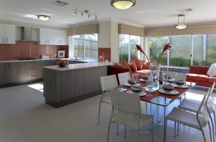 Imperial Kitchens, U-shaped kitchen, warm colours,  Brisbane
