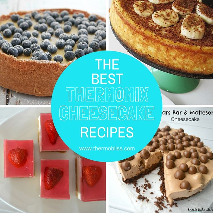 today I've decided to celebrate all things cheesecake by sharing a collection of our favourite Thermomix Cheesecake Recipes - enjoy! Kicking off this Thermomix Cheesecake recipe collection is this classic (and delicious!) Thermomix New York Cheesecake created by our very own Lucy.