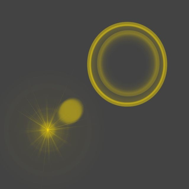 Ring Lens Flare Effect, Abstract, Light, Designbackground