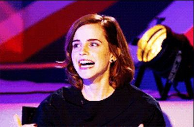 When you're the first of your friends to arrive at a party and you don't know anyone there. | 22 Emma Watson Reactions For Everyday Situations