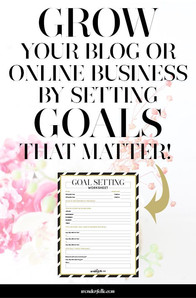 How to set goals (and actually achieve them) -free goal setting worksheets to help you set deadlines, define SMART goals, and break them down into actionable steps you will actually accomplish.