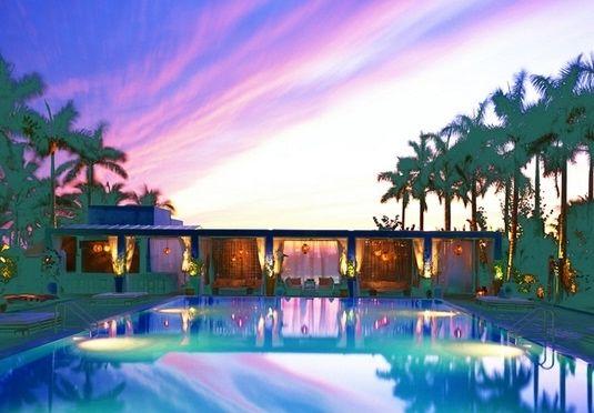 Boutiquehotell ved stranden i South Beach, med stil, tidsriktig design og pulserende natteliv